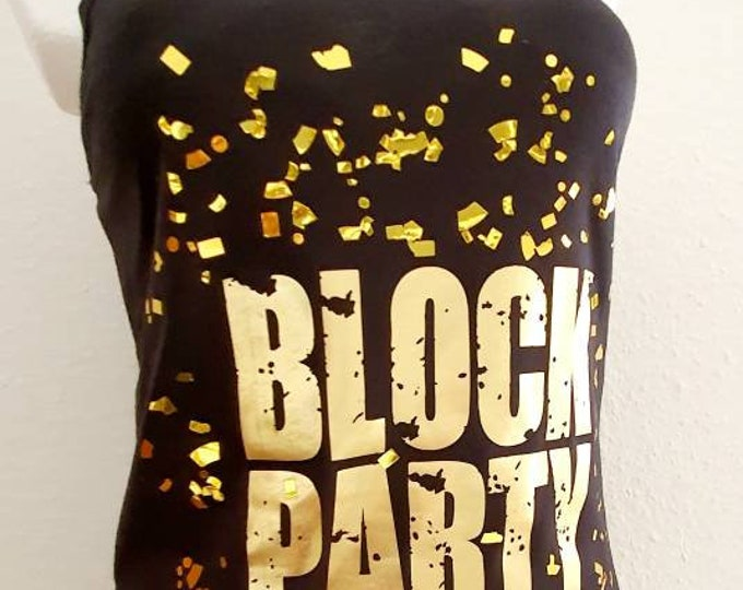 Block Party -  NKOTB - Iron on