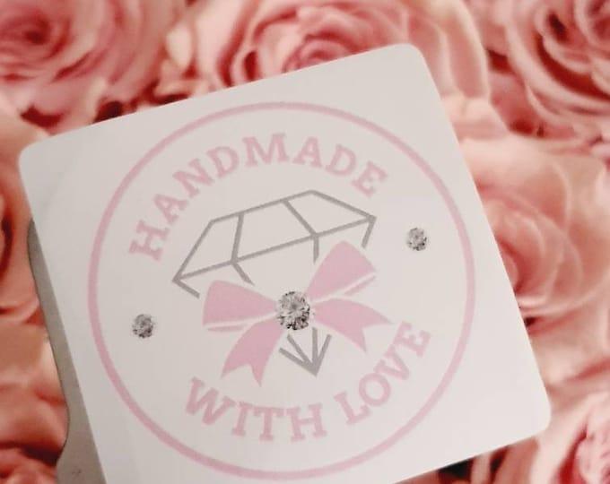 High quality sticker 50mm, Handmade with love