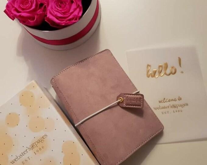 Soft lilac pocket suede Traveler