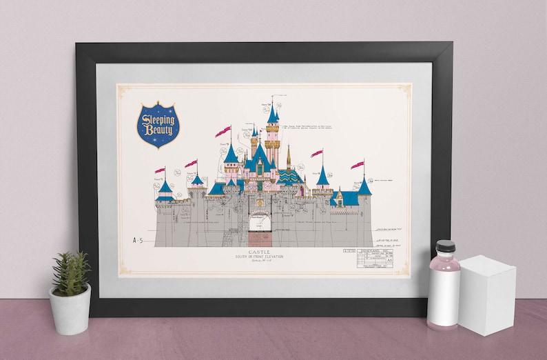 Disneyland  Sleeping Beauty Castle  Front Elevation  image 0