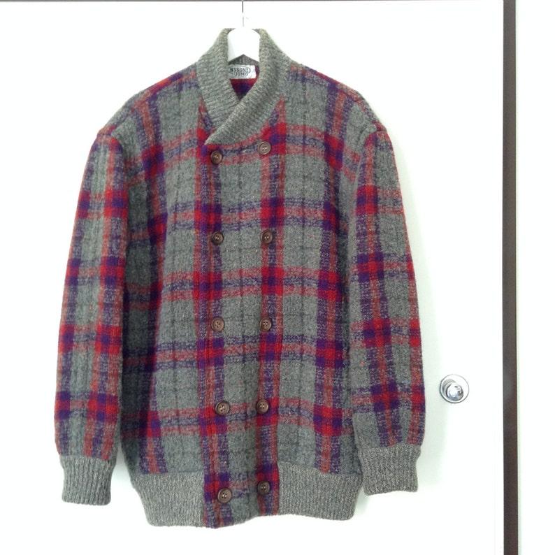 Missoni vintage tartan wool jacket    Missoni vintage sweater  28746b7f0e9b