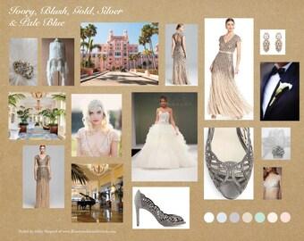 Custom 'Gatsby Inspired' Art Deco Bridal Comb