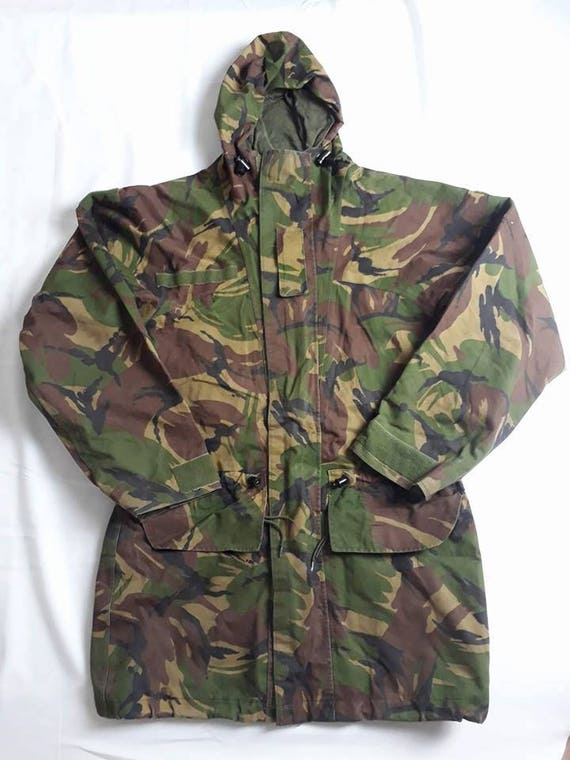 Dutch Army DPM Camouflage Goretex Winter Parka wit