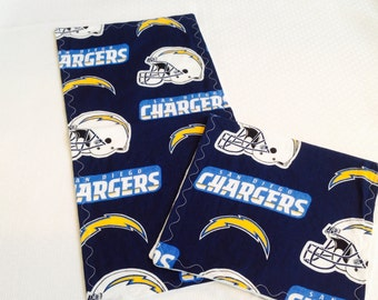 San Diego Chargers Baby  Burp Cloths