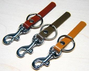 Italian leather womens keyring brass key ring zinc or  99832188f8