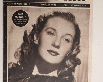 portrait 1965 Wall decoration news agency paris- Match France Authentic Film Photography Jean Marais