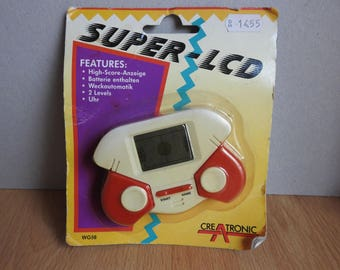 Creatronic Super LCD Vintage Handheld Game WG-58 NOS New Old Stock