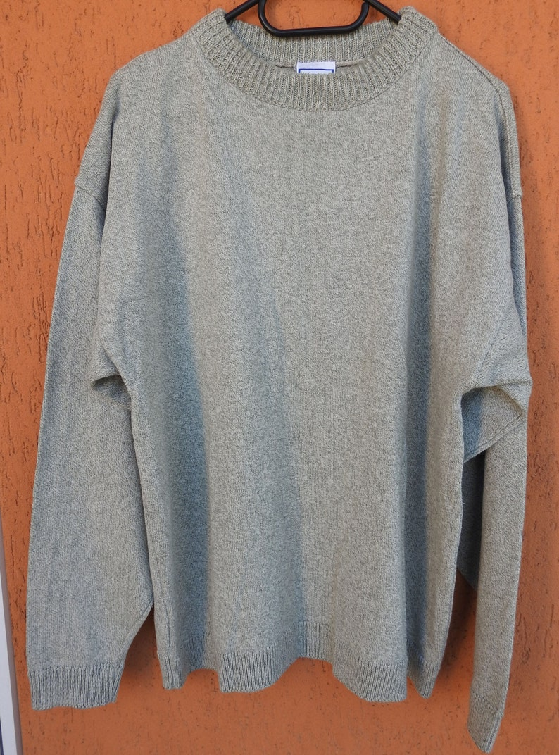 ee7a4c5f70f9 Ultra Vintage Yves Saint Laurent YSL C A Knit Sweater Jumper