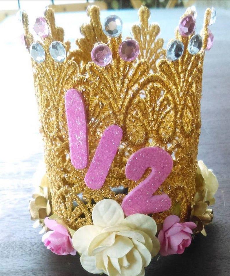 12 Birthday Princess Crown