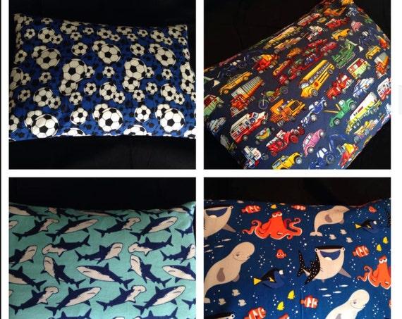 Toddler Pillowcase, Standard Pillowcase, King Pillowcase, Custom Pillowcase, Envelope Closure Pillowcase, European Pillowcase