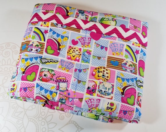 Character, 7 Pound, WEIGHTED BLANKET, Ready To Ship, 7 pounds, 38x42, for Autism, Sensory, ADHD, Calming