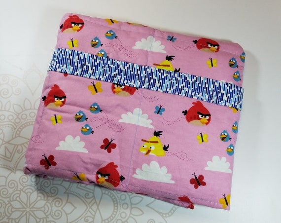 Ready To Ship, 6 Pound, WEIGHTED BLANKET, Ready To Ship, 6 pounds, 38x42 for Autism, Sensory, ADHD