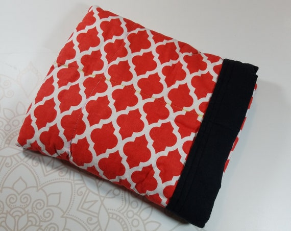 Moroccan, 4 Pound, WEIGHTED BLANKET, Ready To Ship, 4 pounds, 28x32 for Autism, Sensory, ADHD, Calming, Anxiety,