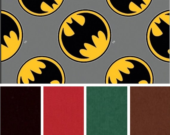 Bat Hero Weighted Blanket, Cotton Flannel, Up to Twin Size, 3 to 20 Pounds, Adult Weighted Blanket, SPD, Autism, Calming Blanket