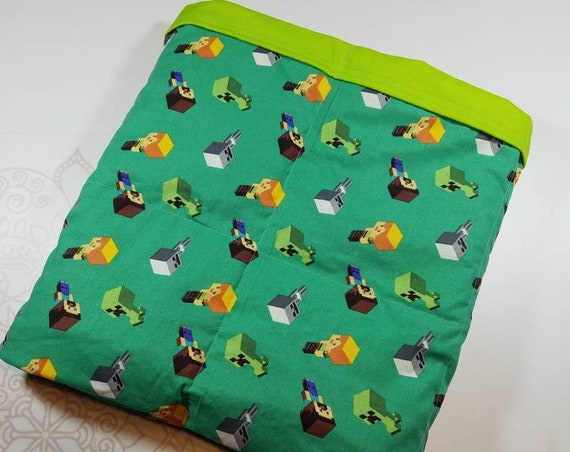 Video Game, Weighted Blanket, Cotton, Up to Twin Size, 3 to 20 Pounds, Adult Weighted Blanket, SPD, Autism, Calming Blanket