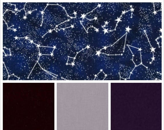 Constellation, Glow In The Dark, Weighted Blanket, Cotton, Up to Twin Size, 3 to 20 Pounds, 3 to 20 lb, Adult Weighted Blanket, SPD, Autism