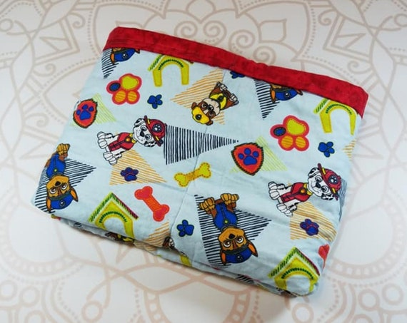 Ready To Ship, 40X42, Character, 6 Pound, WEIGHTED BLANKET, Ready To Ship, 6 pounds, 40x42, for Autism, Sensory, ADHD, Calming