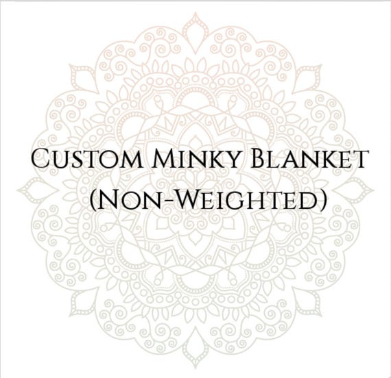 Custom Minky Blanket, Baby Blanket, Chenille Blanket. Minky Throw, Chenille Throw, Twin Minky Blanket