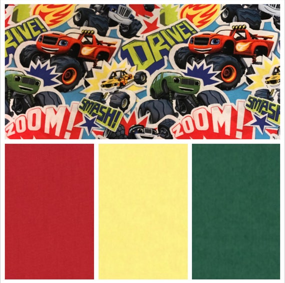 Monster Truck, Weighted Blanket, Cotton, Up to Twin Size, 3 to 20 Pounds, 3 to 20 lb, Adult Weighted Blanket, SPD, Autism, Calming Blanket