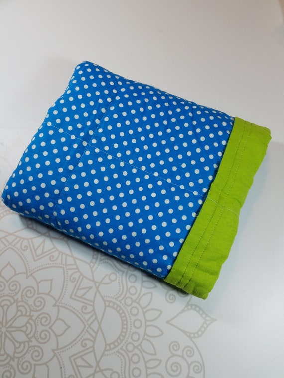 Ready To Ship, 5 Pound, WEIGHTED BLANKET, Dots, Ready To Ship, 5 pounds, 28x32 for Autism, Sensory, ADHD, Calming, Anxiety,