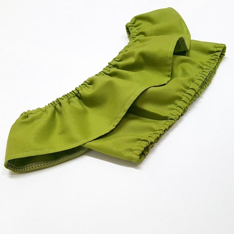 bfdcfee26b733 Green Off The Shoulder Crop Top Tween Girls Midriff Boho