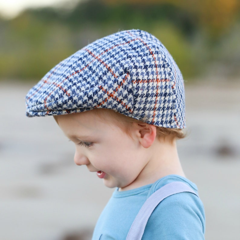 d90ece78 Toddler Boys Flat Cap Baby Boys Driving Hat Little Boys | Etsy
