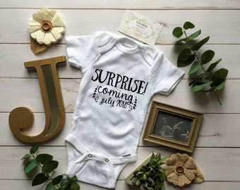 Pregnancy Announcement Gerber® ONESIE® Bodysuit, Baby Announcement ONESIE®, Announcement ONESIE®, Pregnancy Announcement Shirt, Baby Boy