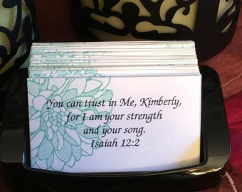 Your Personalized Scripture Cards to Hear God Speak to You!