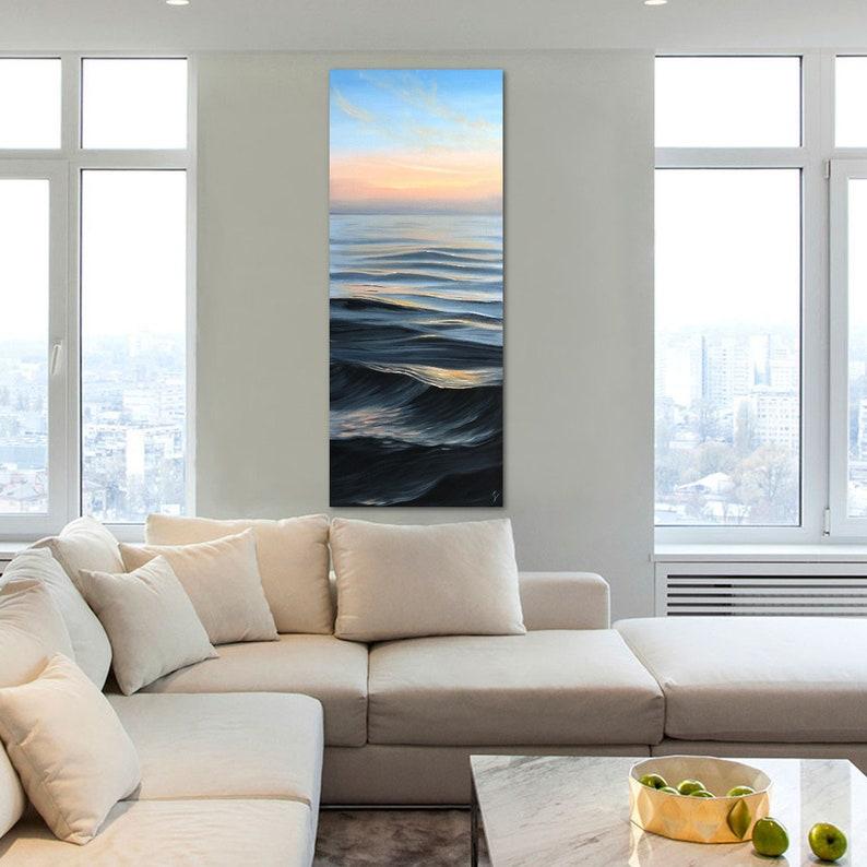 Dreaming of Summer  Original Large Sunrise over the Ocean image 0