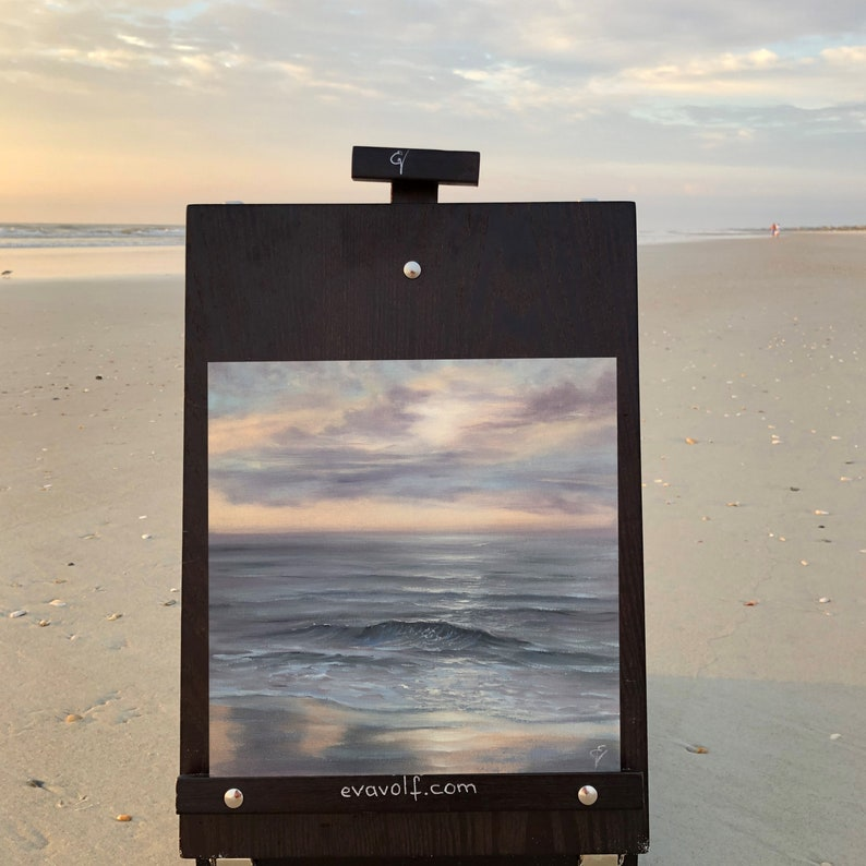 Drink The Wild Air  Plein Air Coastal Landscape Painting from image 0