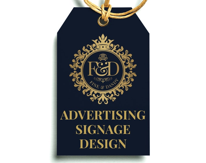 Professional Design Service for Advertising Boards / Signage
