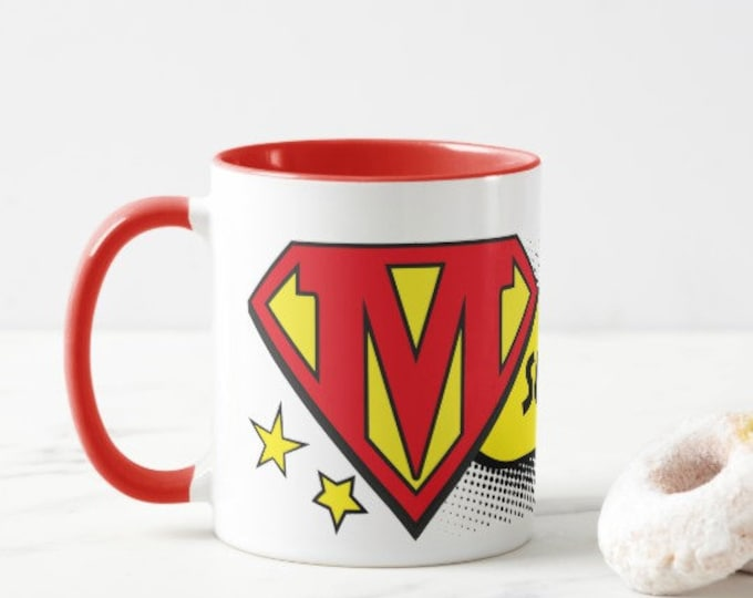 Super Mum. Choice of Colours. Great mothers day or Christmas present.