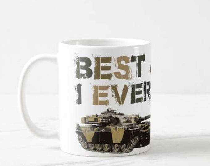 Personalised Royal Tank Regiment Mug.  Best Job I Ever Had.  Choice of Regiments and Colours.