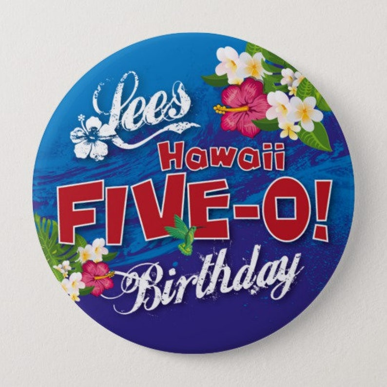 40th Birthday Badge Not Everyone Looks this Good at 40 50mm birthday gift BLUE