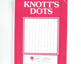 Knott's Dots, smocking iron on dots 30 Rows, transfer dots, smocking dots