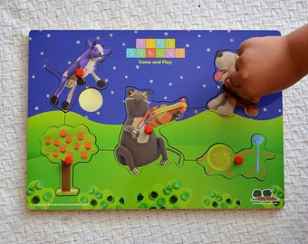 Peek-a-boo puzzle – Play School (two styles)