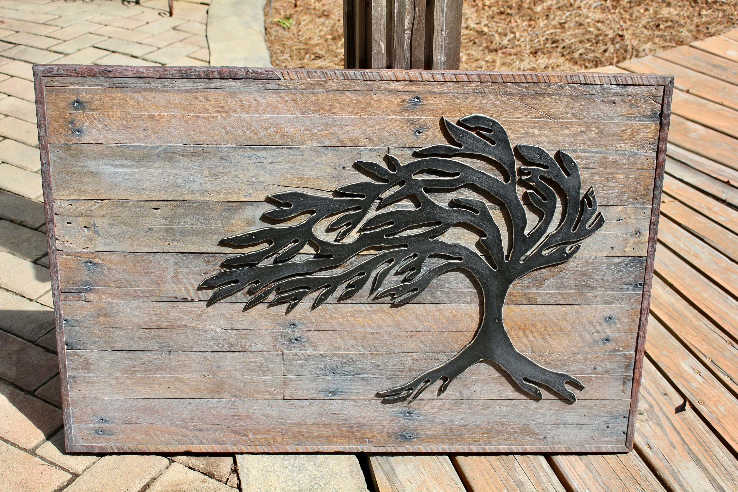 Pallet Wood Tree Wall Art Pallet Wood Wall Art Wood Sculpture