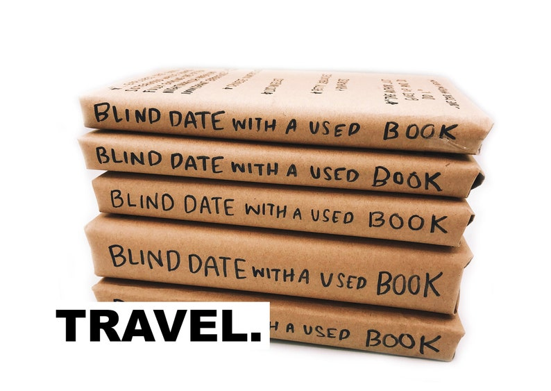Blind Date With A Used Book TRAVEL  Free Shipping image 0