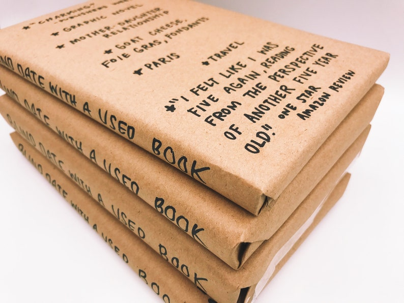 Blind Date With A Used Book FOOD  FREE SHIPPING image 0