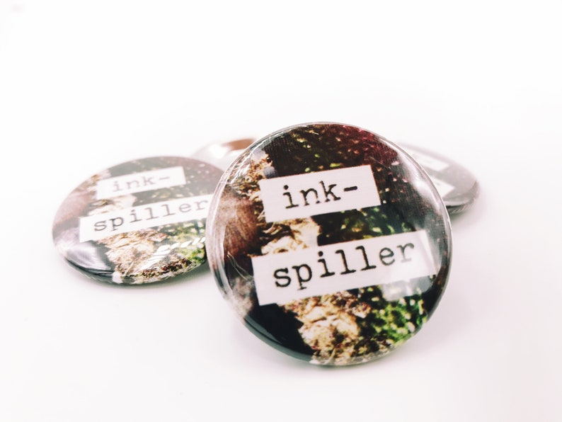 Ink Spiller 1.5 Pin-Back Button image 0