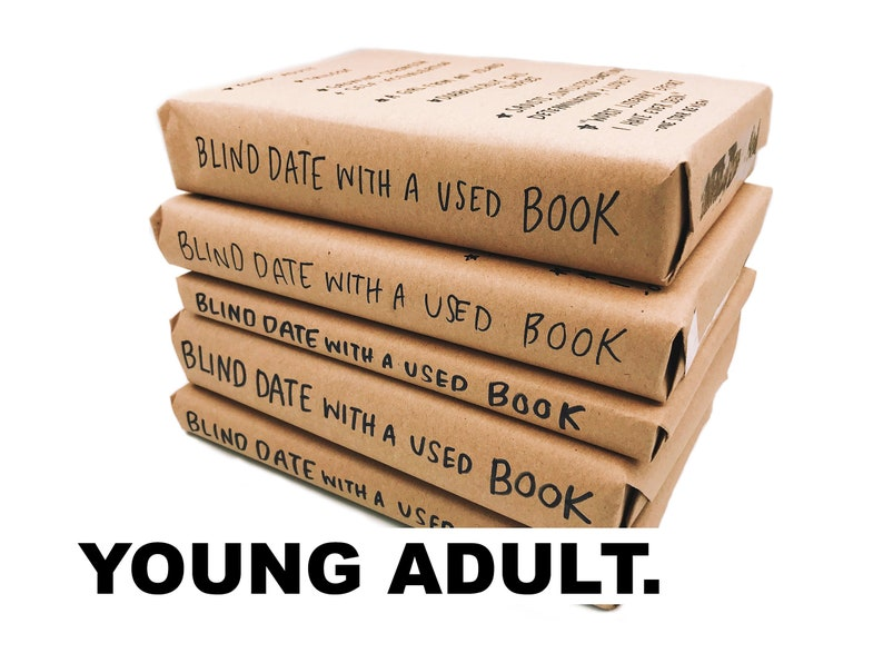 Blind Date With A Used Book YA  FREE SHIPPING image 0