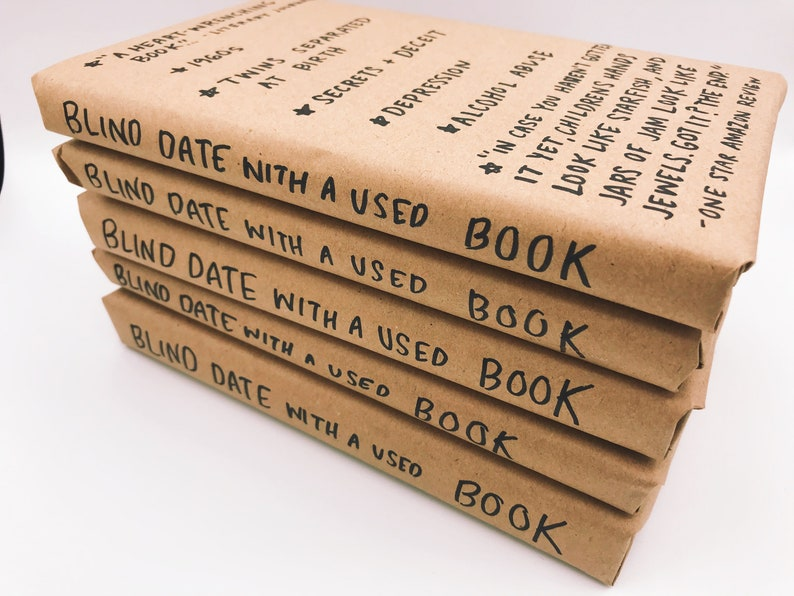 Blind Date With A Used Book  FREE SHIPPING image 0
