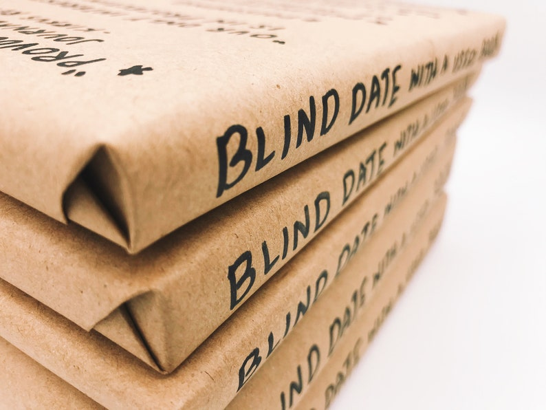Blind Date With A Used Book   Non-Fiction  FREE SHIPPING image 0