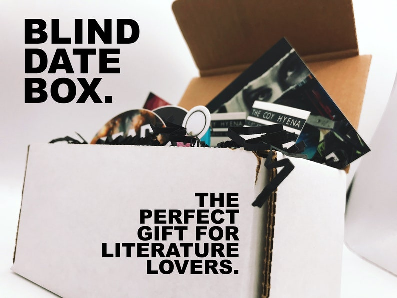 Blind Date with a Bibliophile Box  Mystery Pack image 0