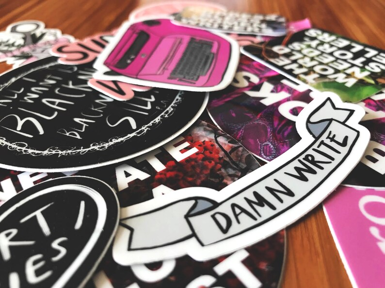 Mystery Sticker Pack  Lot of 7 LIMITED TIME SALE image 0