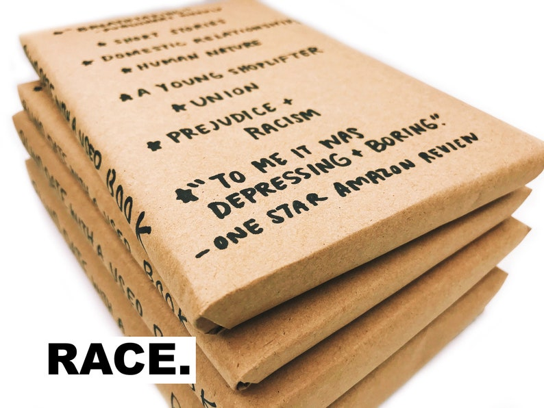Blind Date With A Used Book RACE  FREE SHIPPING image 0