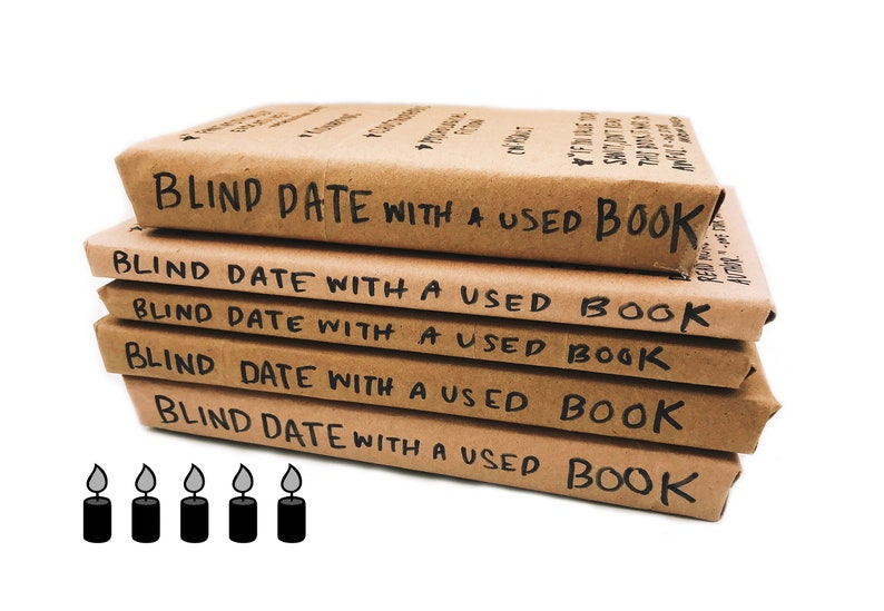 Blind Date With A Used Book KATE'S PICKS  Free Shipping image 0