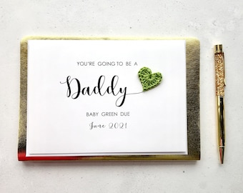 You're going to be a Daddy card - Pregnancy announcement