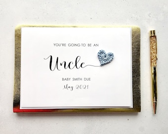 You're going to be an Uncle card - Pregnancy announcement