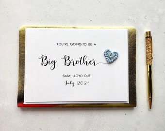You're going to be a Big Brother card - Pregnancy announcement